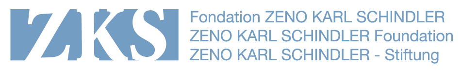 Zeno Karl Schindler Foundation logo